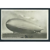 Cartão Postal Graf Zeppelin Original Lz127 Alemanha