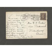 Postal - Niagara Falls Canadá Selo 1933 P/ Londres Circulado