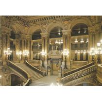 Postal Antigo - Teatro De Ópera - Paris - França - F18