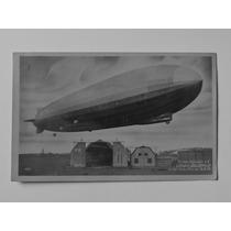 Alemanha Postal Zeppelin Circulado 1928