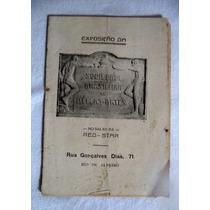 Catálogo Sociedade Br De Belas Artes Red Star