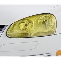 Película Adesivo Amarela P/ Lanterna E Farol Carros E Motos