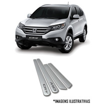 Friso Lateral Honda New Civic City Fit Crv Pintado Na Cor