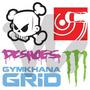 Adesivo Ken Block Dc Gymkhana Jdm Euro Carro Fixa Monster