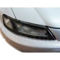 Kit Aplique Farol Mascara Negra Vinil Chevrolet Celta G1