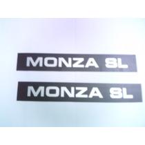 Aplique Friso Da Porta Lateral Monza Sl 87/89 Mmf Auto Parts