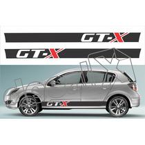 Kit Faixa Adesivos Chevrolet Vectra Gtx Gtx002 - 3m - Decalx