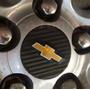 Kit 4 Adesivo Emblema Rodas Fibra Carbono Cruze Frete Gratis
