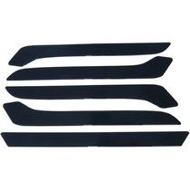 Bumper Protetor De Para-choque Universal Preto Friso