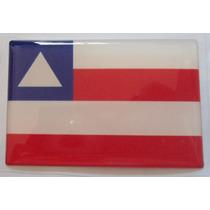 Bandeiras Adesivas Resinadas Bahia Brasil - Mmf Auto Parts