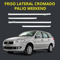 Friso Cromado Palio Weekend - 2005 Em Diante - Palio Weekend