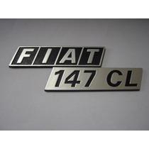 Emblema Fiat 147 C L P/ Porta Malas - Bre