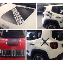 Kit Adesivo Jeep Renegade 2015 / Acessório / Original