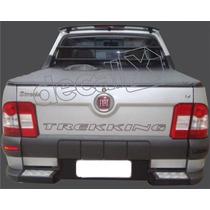 Adesivo Tampa Traseira Fiat Strada Trekking !!! Decalx