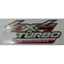 Adesivo 4x4 Turbo Inetrcooler Hilux 2009 - Toyota