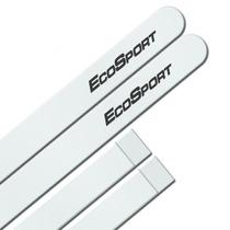 Jogo Frisos Ecosport 2013 E Diante Branco Na Cor Original