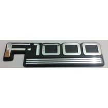 Emblema F1000 Ford