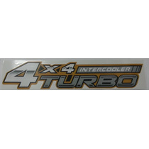 Emblema 4x4 Intercooler Turbo Hilux Toyota