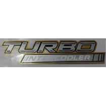 Emblema Adesivo Turbo Intercooler Hilux Toyota