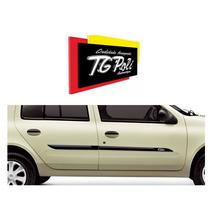 Friso Lateral Porta Tg Poli Personalizado Renault Clio