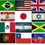 Adesivos De Bandeiras De Países Para Carro E Moto.