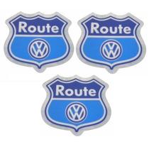 Adesivos Route - Volkswagen Fox - Spacefox - Preço Dos Três!