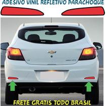 Adesivo Parachoque Refletivo Agile Celta Spin Prisma Meriva