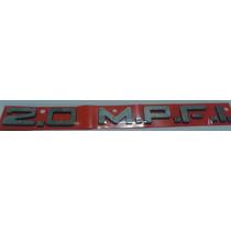 Emblema 2.0 Mpfi Expandido Prata Vectra Monza Astra Kadet