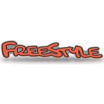 Adesivo Lateral Ford Ecosport Freestyle 03 Até 12 Laranja!!!