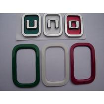 Emblema Novo Uno Itália + Aplique Parachoque 11/... - Bre