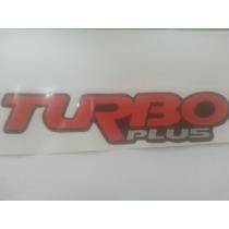 Emblema Adesivo Turbo Plus D20 D10 C20 S10 Blazer E Silverad