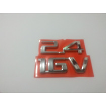 Emblema 2.4 16v Vectra Astra Zafira Cruze Onix Cobalt S10