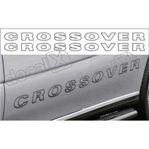 Par Adesivos Laterais Saveiro Crossover 2006 Sc001 - Decalx