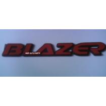 Emblema Blazer (vermelho) - Mmf Auto Parts - Com Nota Fisc