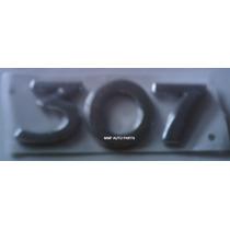 Emblema 307 Peugeot Porta Malas Mmf Auto Parts