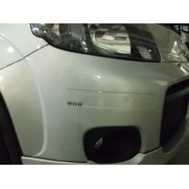Protetor Pára-choque Transparente Fiat Novo Uno-frete Grátis