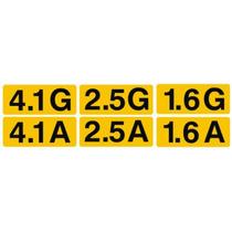 Adesivo Motor Opala - Chevette. 4.1 - 2.5 - 1.6 (g Ou A)