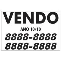 Adesivo Vendo Personalizado 30 X 20 (par)