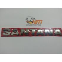 Emblema Santana Cromado G3 E G4 Linha Vw