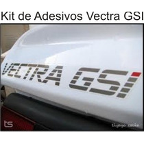 Kit De Adesivos Gm Chevrolet Vectra Gsi 2.0 16v