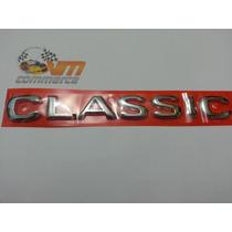 Emblema Classic Cromado Linha 2002 Corsa Sedan Em Diante