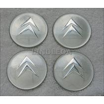 Emblemas Centro Rodas Slv Citroen C3 C4 C5 Xsara Picasso