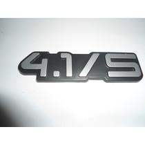 Kit Emblema 4.1/s + Automatic Opala / Caravan Até 90 - Mmf