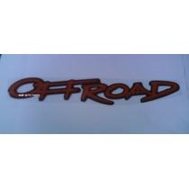 Adesivo Resinado Off Road Montana - Mmf Auto Parts.