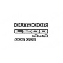 L200 Outdoor Kit De Adesivo Resinados