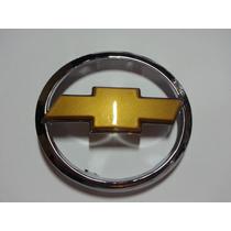Emblema Gravata Dourada Grade Vectra 02 A 06 Com Dourado