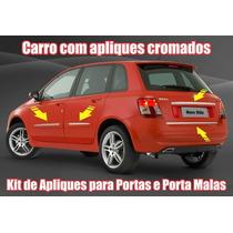 Kit Adesivo Frisos Cromados Fiat Stilo Sporting Frete Grátis