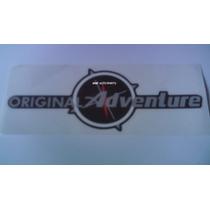 Adesivo Original Adventure - Pequeno - Mmf Auto Parts