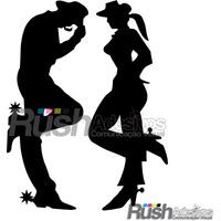 Adesivo Cowboy Cowgirl , Casal Country Frete Gratis