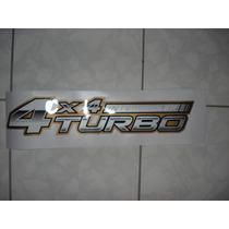 Emblema Adesivo Hilux 4x4 Turbo Intercooler 06 Toyota Hilux